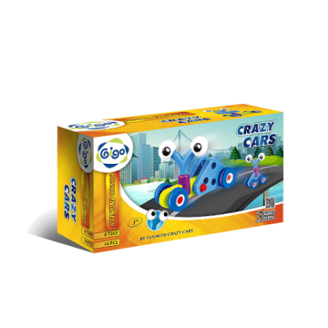 Gigo Junior Engineer - Crazy Cars (14 Pieces)