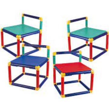 Gigo - Green Color Chair (1 Piece)