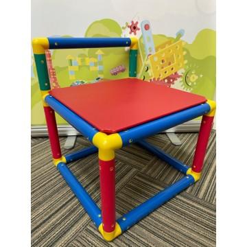 Gigo - Red Color Chair (1 Piece)