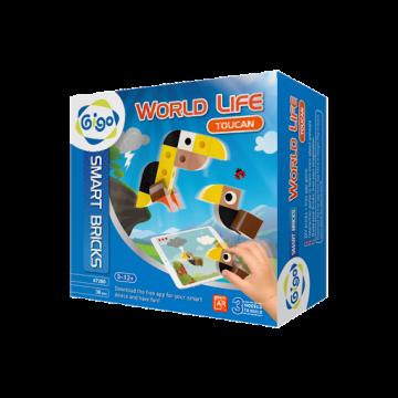 Gigo Toys World Life - Toucan (38 Pieces)