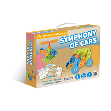 Gigo Junior Engineer - Symphony of Cars (43 Pieces)