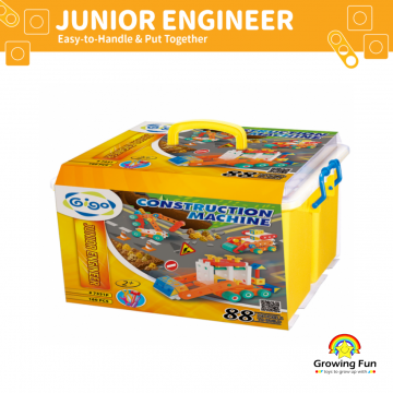 Gigo Junior Engineer Construction Machine (160 Pieces)