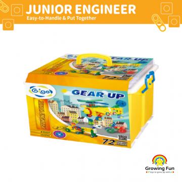 Gigo Junior Engineer Gear Up (110 pieces)