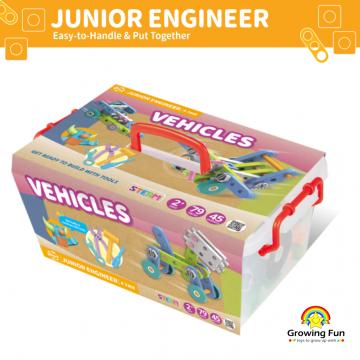 Gigo Junior Engineer - Vehicles (79 Pieces)