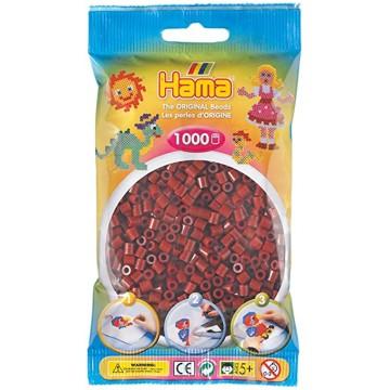 HAMA - 1,000 Midi Beads (Burgundy)