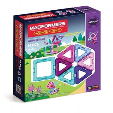Magformers Inspire Set (14 Pieces)   Online Educational Toy Shop