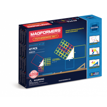 Magformers - Pythagoras Set (47 Pieces)