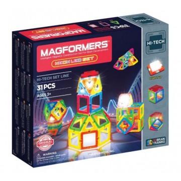 Magformers Neon LED set (31 pcs)