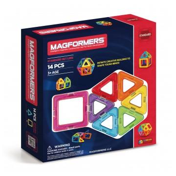 Magformers - Basic Set Line (14 Pieces)