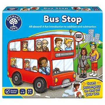 Orchard Toys Game - Bus Stop (Counting Game)