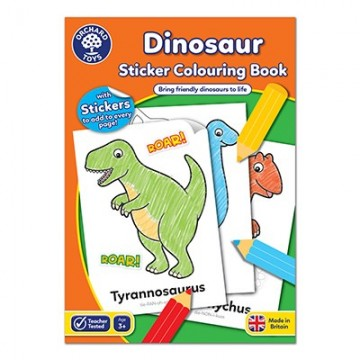 Orchard Toys Dinosaurs Colouring Book