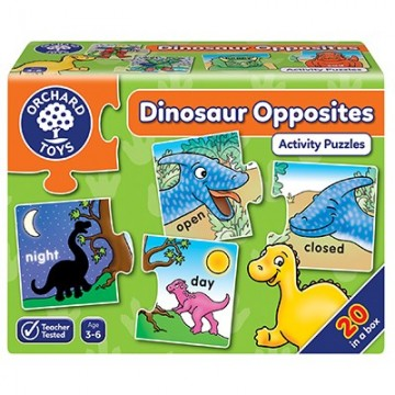 Orchard Toys - Dinosaur Opposites Jigsaw Puzzles | Age 3 - 6