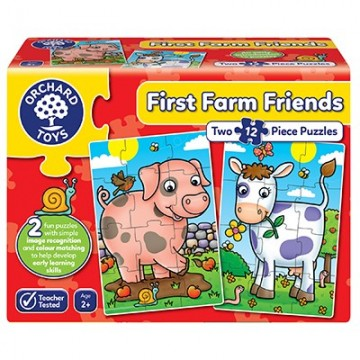 Orchard Toys - First Farm Friends Jigsaw Puzzles | Age 2+