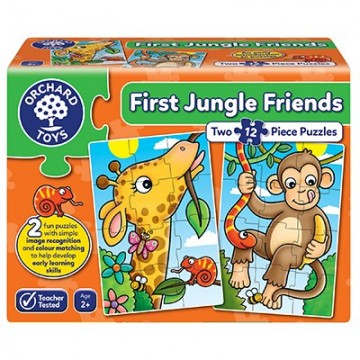 Orchard Toys - First Jungle Friends Jigsaw Puzzles | Age 2+