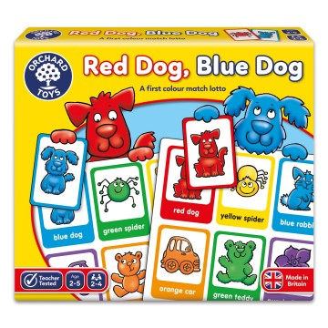 Orchard Toys Game - Red Dog, Blue Dog Game