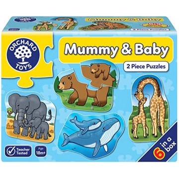 Orchard Toys Matching Puzzle Mummy and Baby