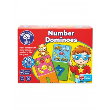 Orchard Toys - Number Dominoes