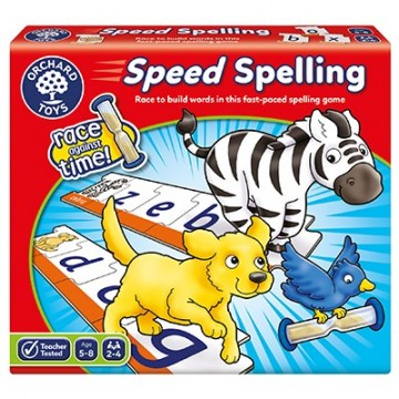 Orchard Toys - Speed Spelling Game | Age 5 - 8