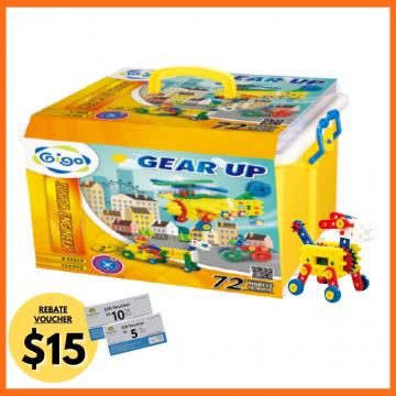 5_Gigo Junior Engineer Gear Up (110 pieces)