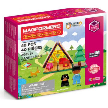 Magformers Camping Adventure Set (40 Pieces)