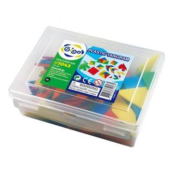 Plastic Tangram (set of 15)