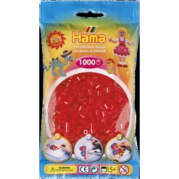 HAMA - Midi - 1,000 bead bag (translucent red)