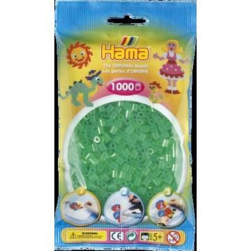 HAMA - Midi - 1,000 bead bag (translucent green)