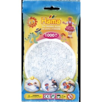 HAMA - Midi - 1,000 bead bag (clear)