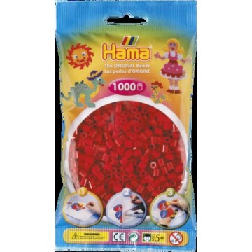 HAMA - Midi - 1,000 bead bag (dark red)