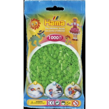 HAMA - Midi - 1,000 bead bag (fluorescent green)