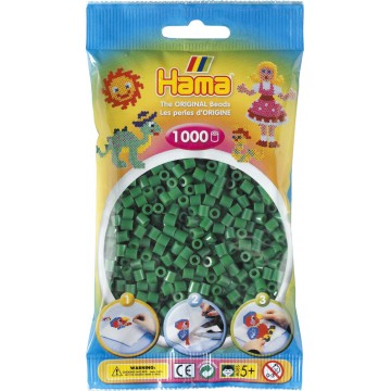 HAMA - Midi - 1,000 bead bag (green)