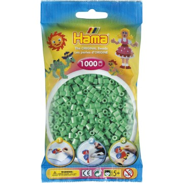 HAMA - Midi - 1,000 bead bag (light green)