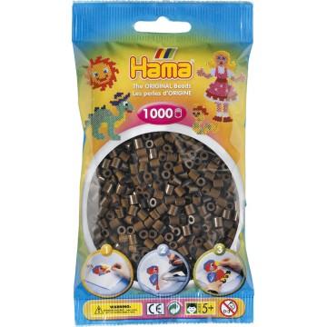 HAMA - Midi - 1,000 bead bag (brown)