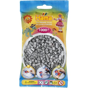 HAMA - Midi - 1,000 bead bag (grey)