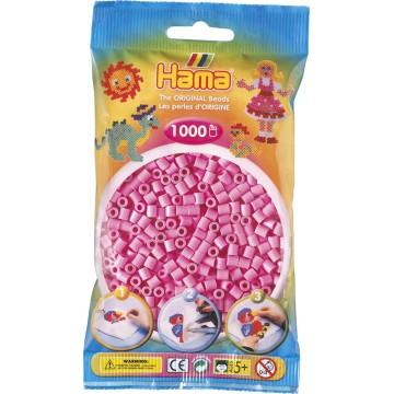 HAMA - Midi - 1,000 bead bag (pastel pink)