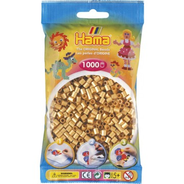 HAMA - Midi - 1,000 bead bag (gold)