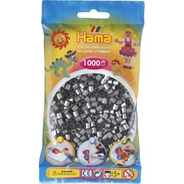 HAMA - Midi - 1,000 bead bag (silver)