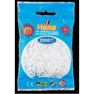 HAMA - Mini - 2,000 bead bag (white)