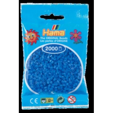 HAMA - Mini - 2,000 bead bag (light blue)