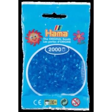 HAMA - Mini - 2,000 bead bag (translucent blue)