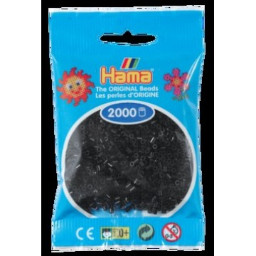 HAMA - Mini - 2,000 bead bag (black)