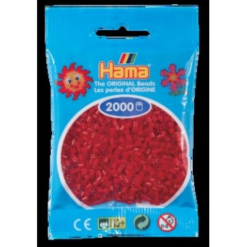 HAMA - Mini - 2,000 bead bag (dark red)