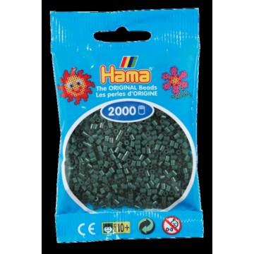 HAMA - Mini - 2,000 bead bag (dark green)
