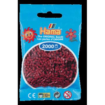 HAMA - Mini - 2,000 bead bag (Burgundy)