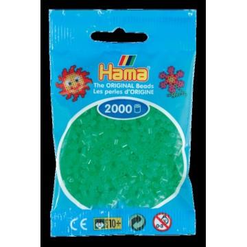 HAMA - Mini - 2,000 bead bag (neon green)