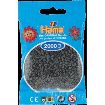 HAMA - Mini - 2,000 bead bag (Dark Grey)