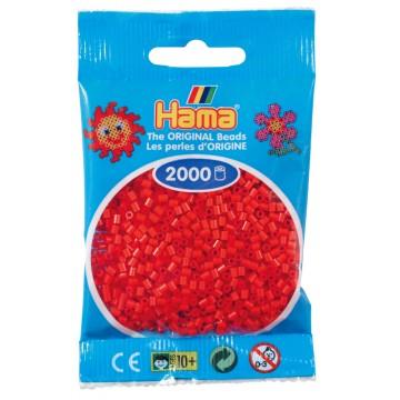 HAMA - Mini - 2,000 bead bag (red)