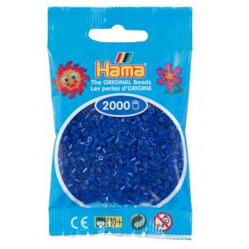HAMA - Mini - 2,000 bead bag (blue)