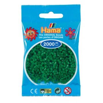 HAMA - Mini - 2,000 bead bag (green)