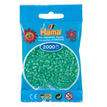 HAMA - Mini - 2,000 bead bag (light green)